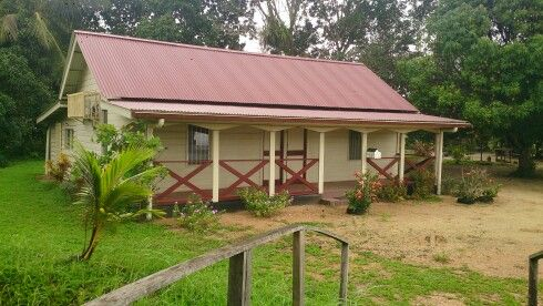 Traditional house suriname