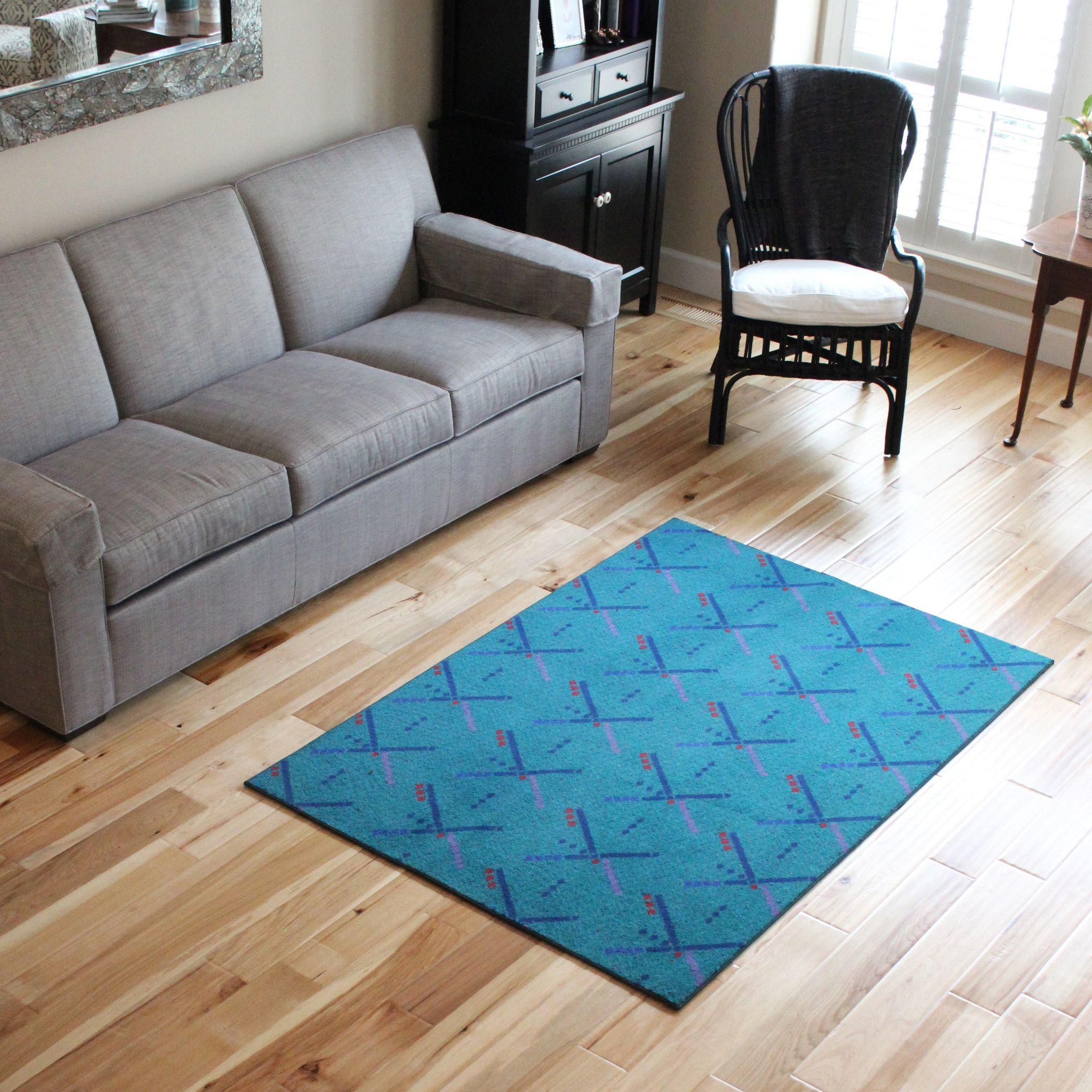 Blue 4x6 Area Rug