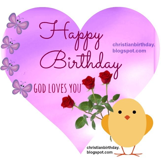 Happy Birthday Religious Card Happy Birthday Love Wish You Nice