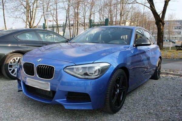 4 Door Bmw 135i Bmw Estoril Blue Bmw Car