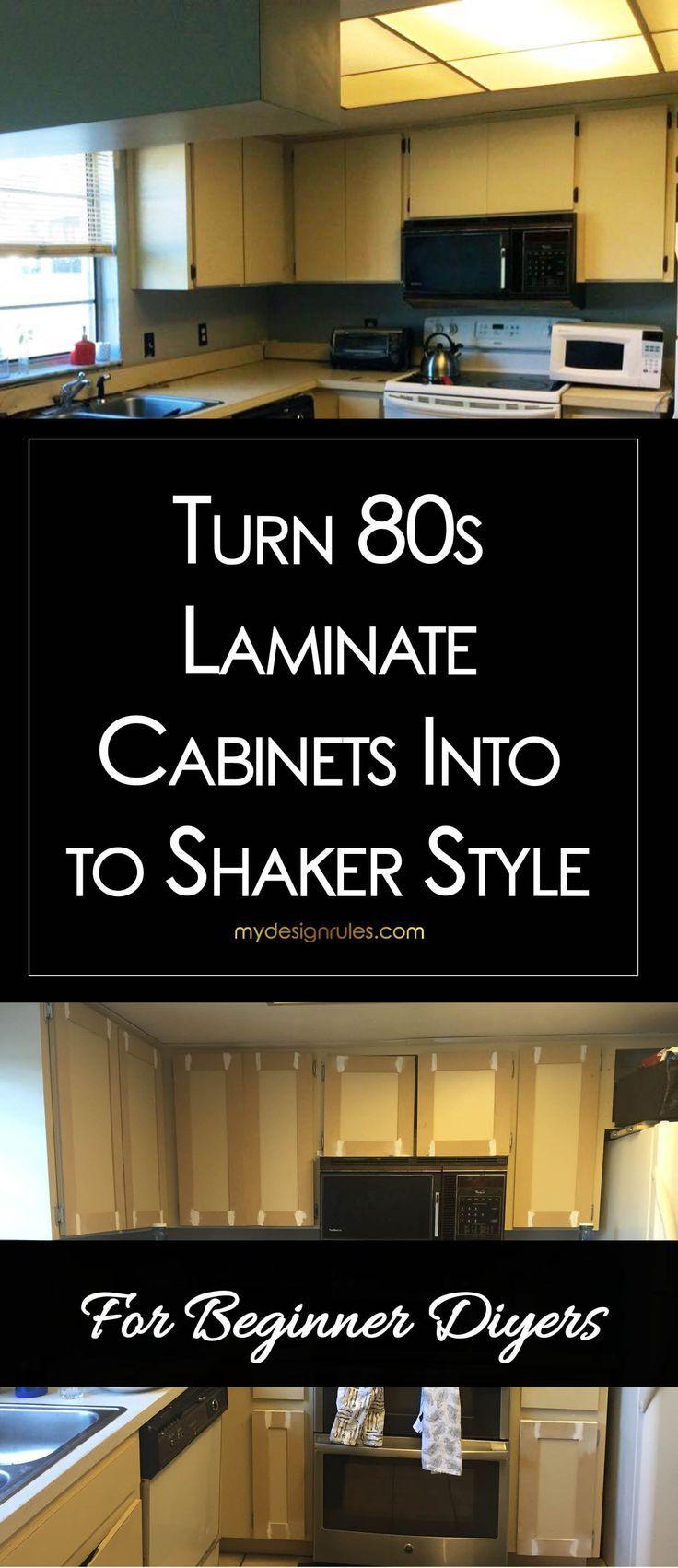 Make Shaker Kitchen Cabinet Doors on a Budget   Kitchen ...
