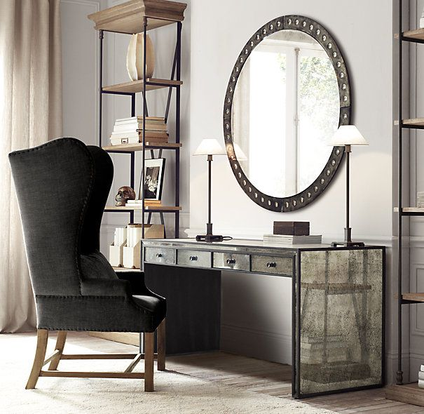 Strand Mirrored Desk