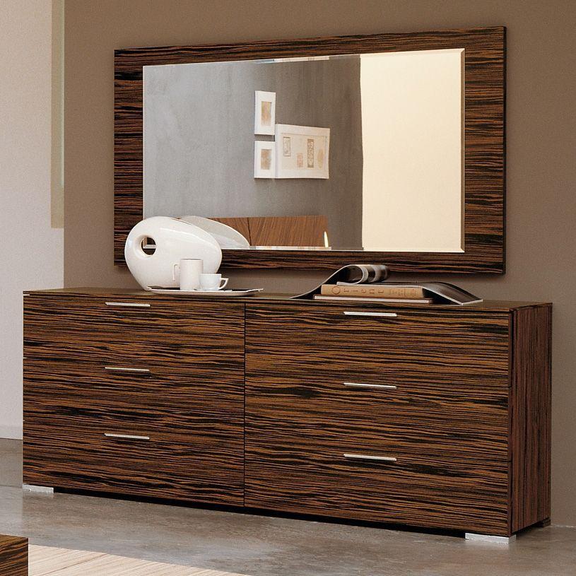 Modern Bedroom Dresser Webb 5piece Bedroom Set With Images Modern Bedroom Dressers Dresser With Mirror Bedroom Decor Inspiration