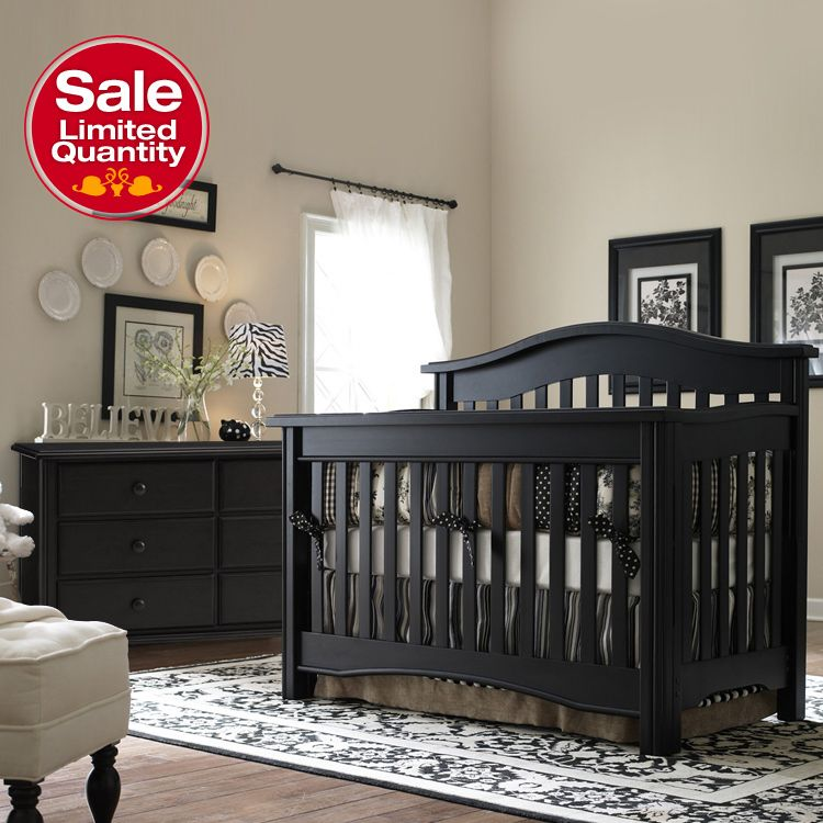 Find This Pin And More On Black Dresser Found It At Wayfair Hudson Nursery Lifestyle Crib Set