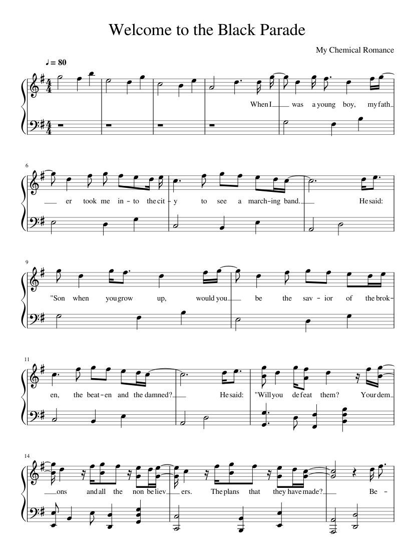 Best Piano Sheet Music With Letters Easy Piano Sheet Music