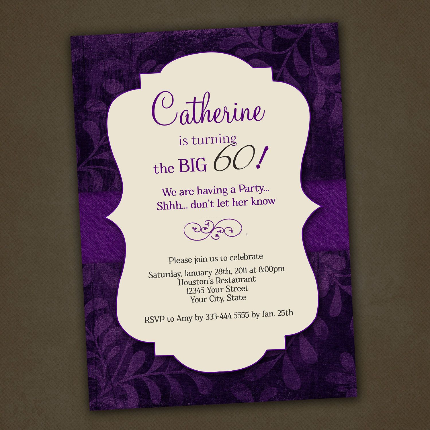 Magnificent 90th Birthday Tea Party Invitations Birthday Party
