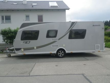 dethleffs camper eighty i 540sb mover solar sat autark in. Black Bedroom Furniture Sets. Home Design Ideas
