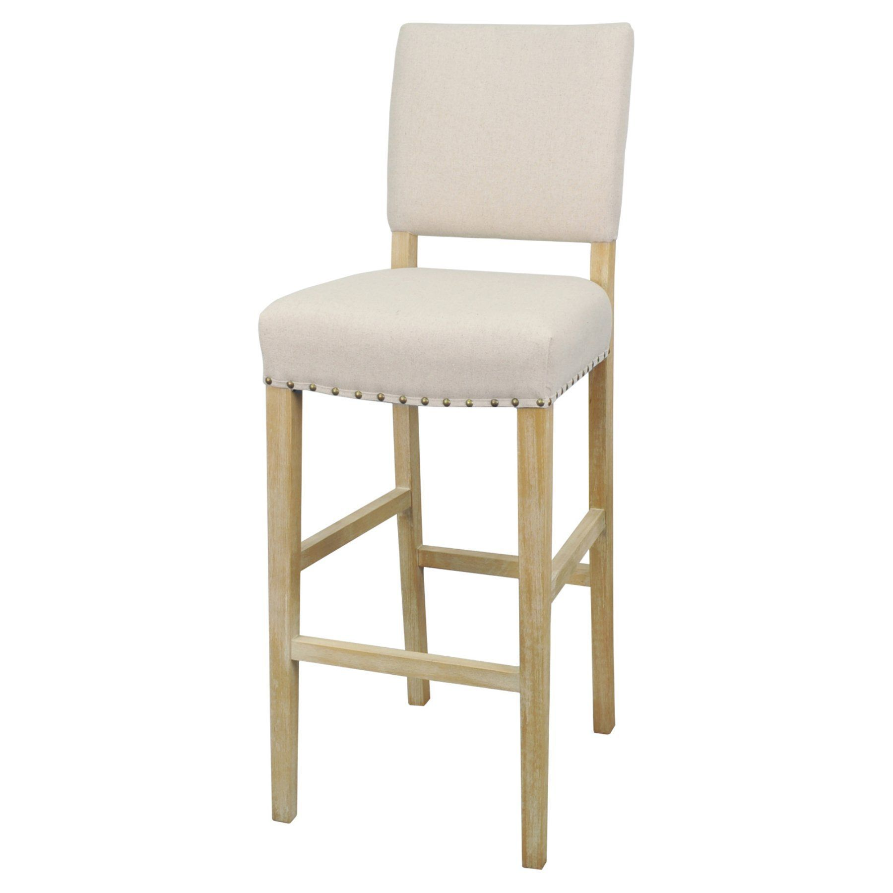 New Pacific Direct Inc Arthur 30 In Fabric Bar Stool With