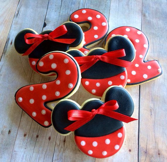 Pin By Micol Echeverria On Minnie Mouse Bday Party
