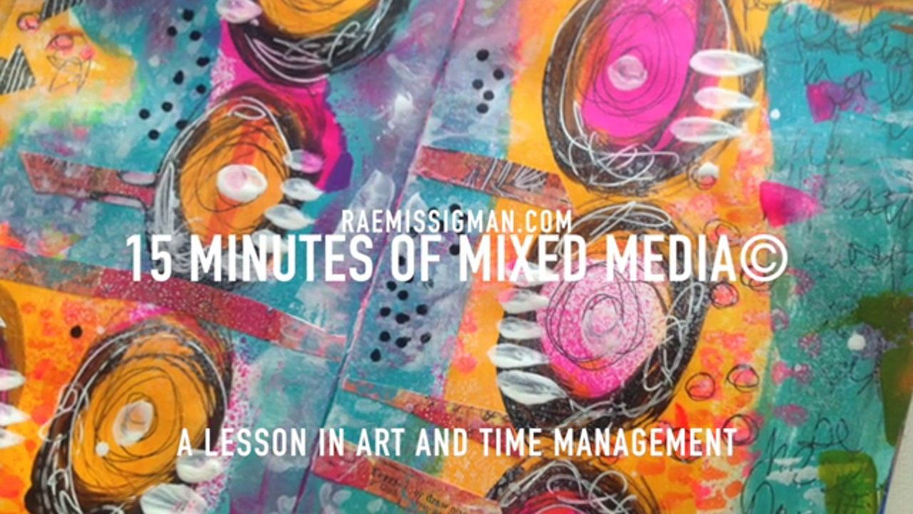 15 minutes of mixed media 4.23. This video is about 15 minutes of mixed media 4.23