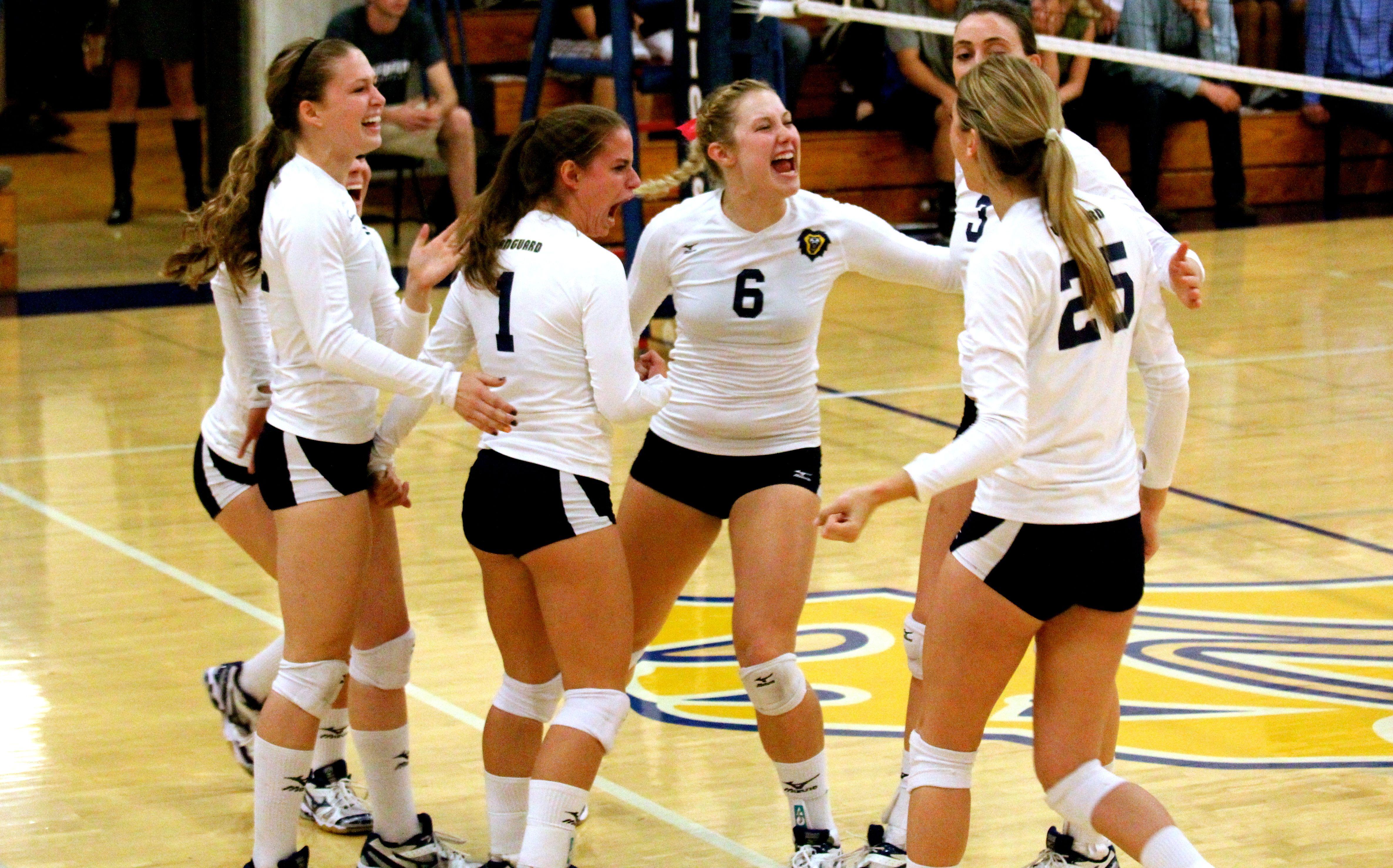 Vanguard University Volleyball Athlete University Pride
