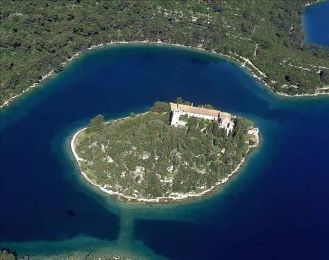 Nacionalni Parkovi Nacionalni Park Mljet Kroatien