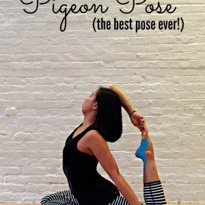 how to modify pigeon pose  hip opening yoga pigeon pose