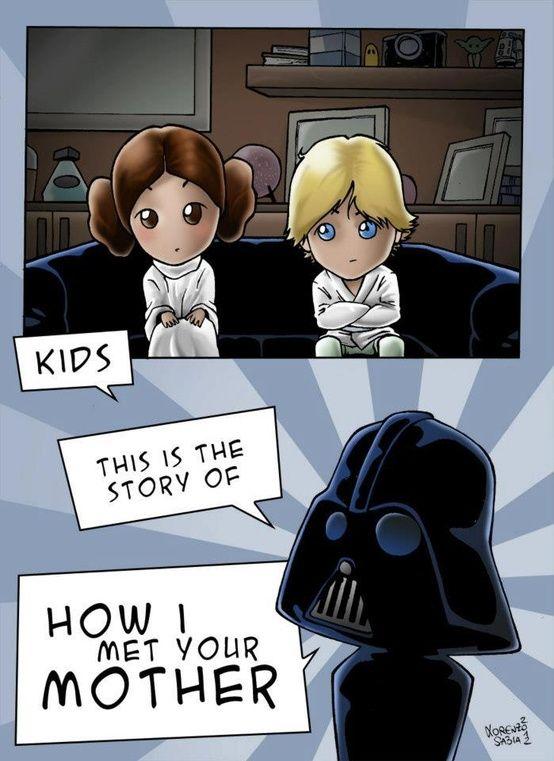 How I Met Your Mother version Star Wars