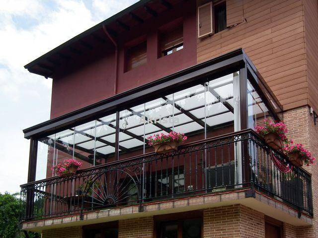 Imagen de techos de policarbonato techos pinterest - Cortavientos terraza ...