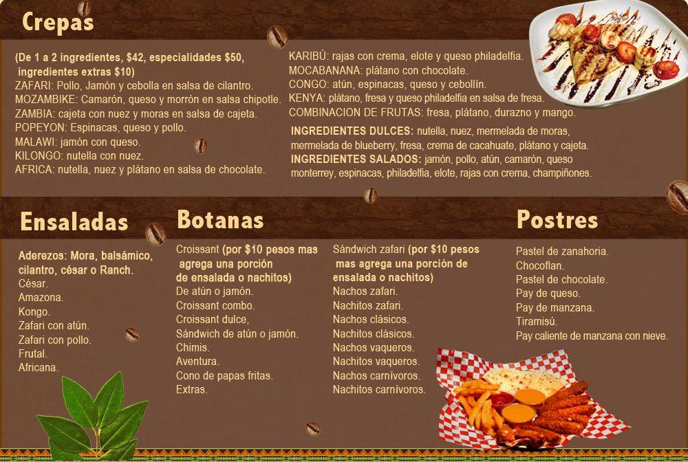 Menus de restaurantes mexicanos group picture image by tag for Disenos de menus para cafeterias