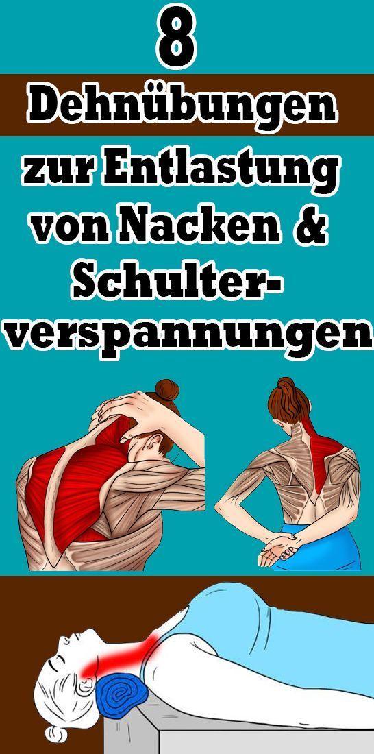 Photo of #Dehnübungen #Linderung #Nacken #Schulterverspannungen #Sport