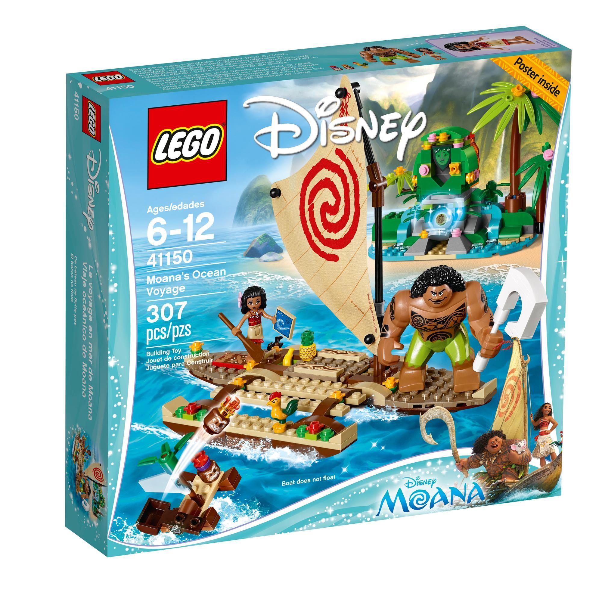 LEGO Disney Moana s Ocean Voyage I LOVE LEGOS
