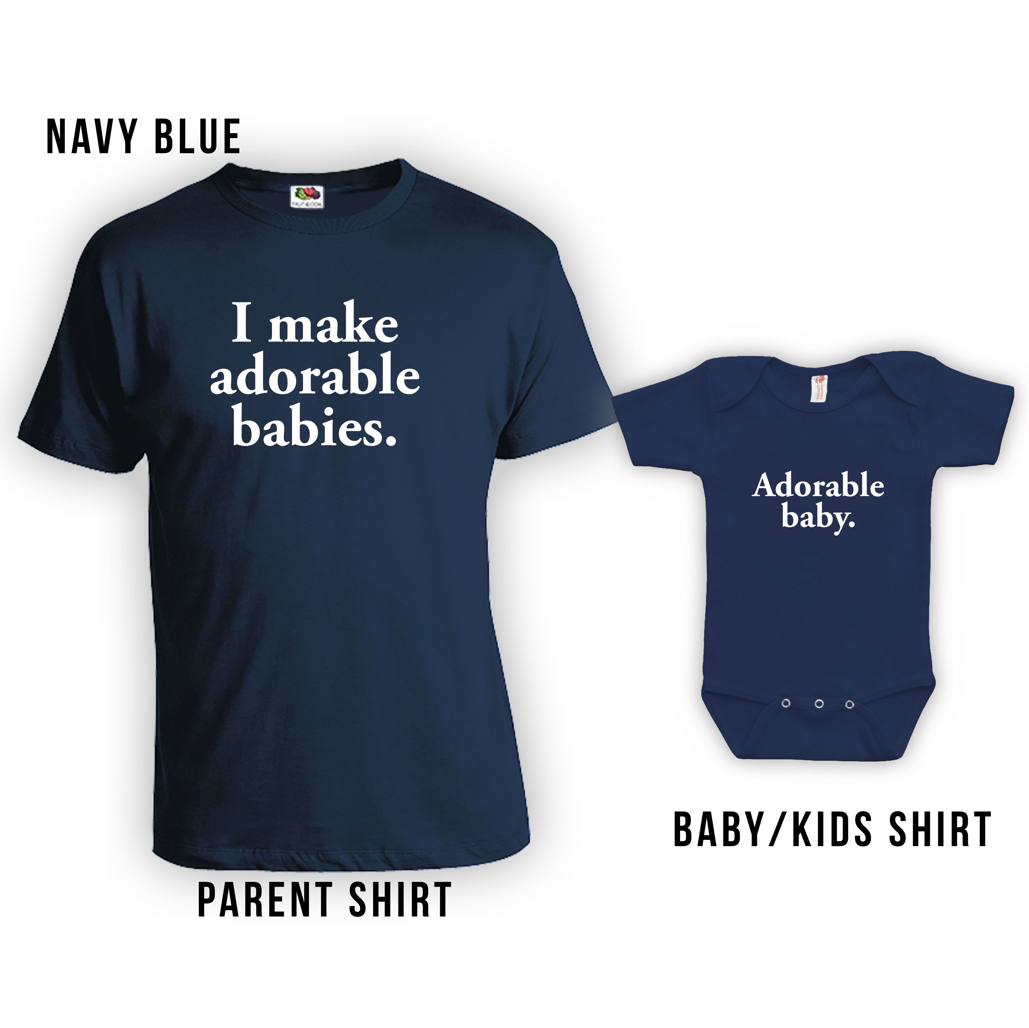 Matching #adorable baby shirts for #fathersday. Unique shirts and more at http://www.etsy.com/shop/lifestyletees on #etsy.