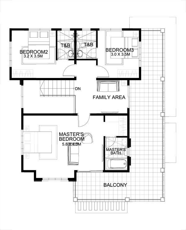 Marcelino model is  four bedroom two storey house that can be built in  meter lot with patio at the front balcony second floor serves as also min on pinterest rh
