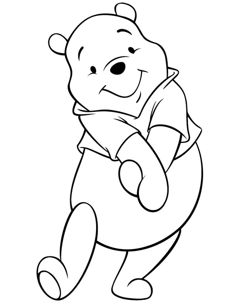 Cute Winnie The Pooh Coloring Pages Pdf Download Free Coloring Sheets Bear Coloring Pages Winnie The Pooh Drawing Disney Coloring Pages
