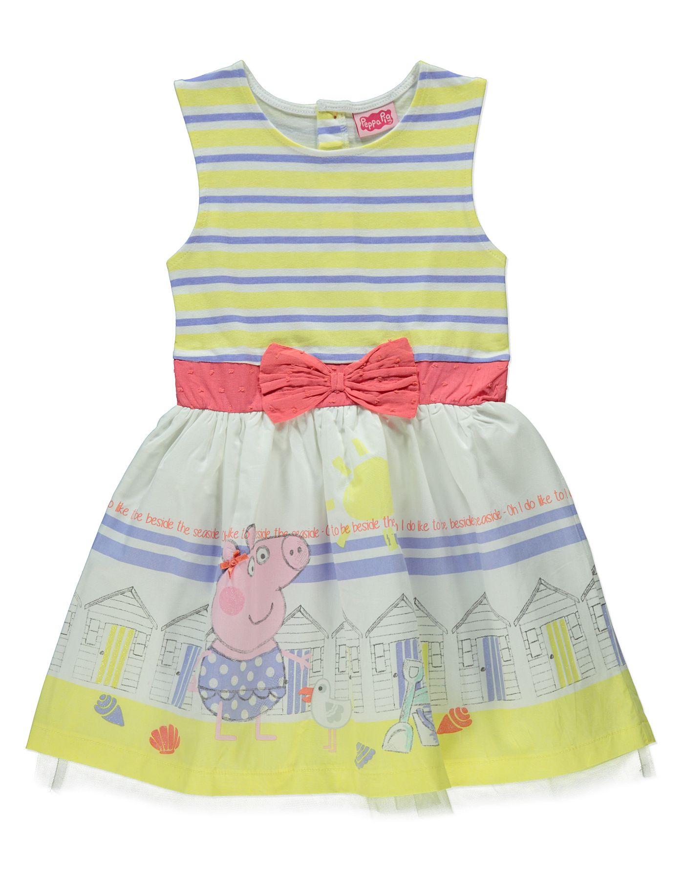 Peppa Pig Seaside Dress | Kids | George at ASDA | graphics seaside ...
