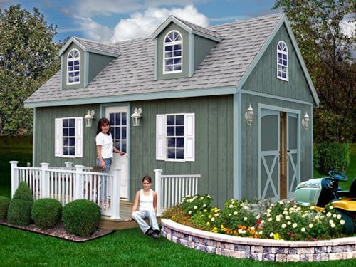 Delicieux Wood Sheds, Outdoor Wooden Storage Sheds U0026 Shed Kits   Shed Town USA
