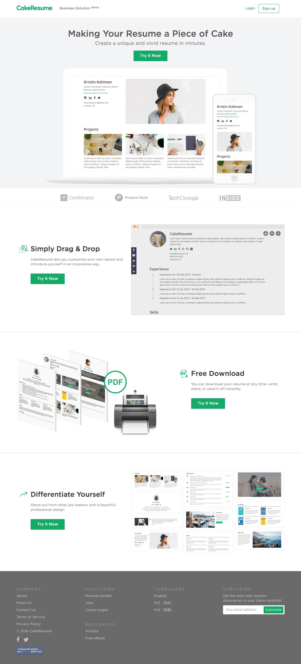 Pin By Aleksandra Savic On Web Online Resume Builder Free Online Resume Builder Resume Builder