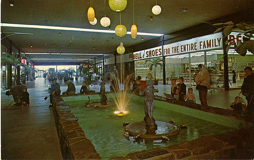 Fort Wayne Mall >> Eastwood Shopping Mall, Birmingham, AL, 1960s   Retro Shopping Malls   Mall, Shopping mall ...