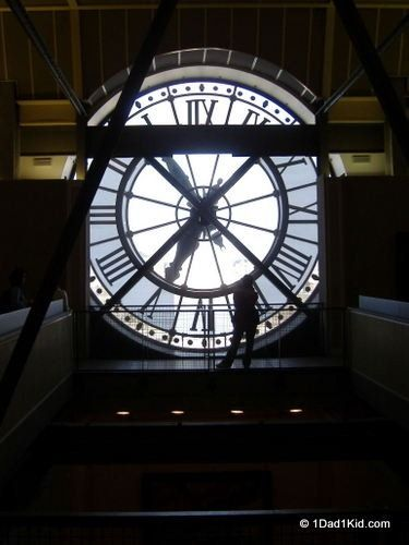 Musee d'Orsay    http://1dad1kid.com/2013/03/25/what-to-do-in-paris