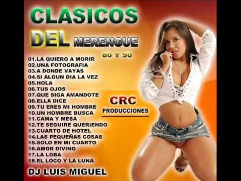 Lista de canciones de merengue