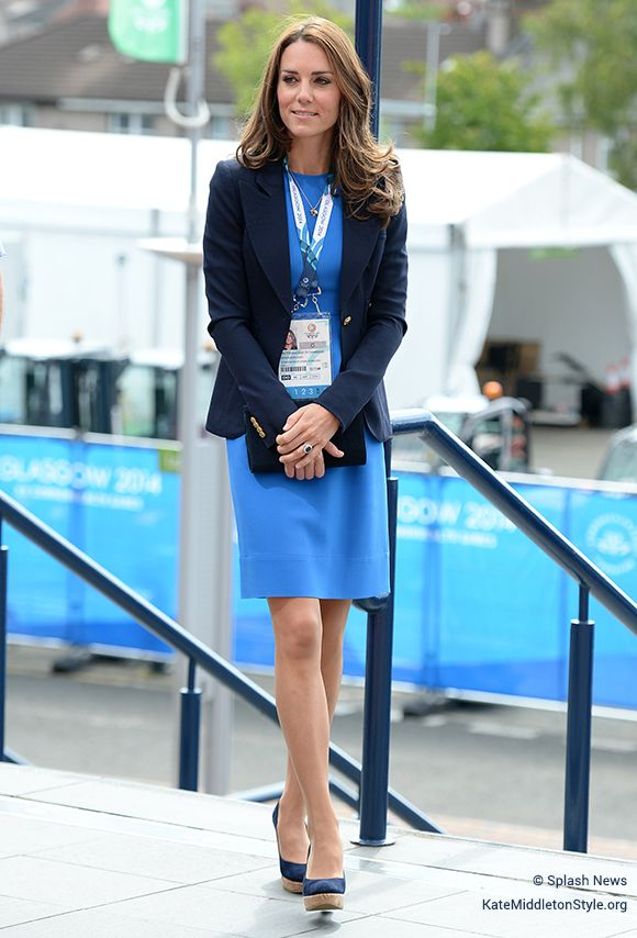 Kate Middleton wears Stella McCartney dress to XX Commonwealth Games in 2014