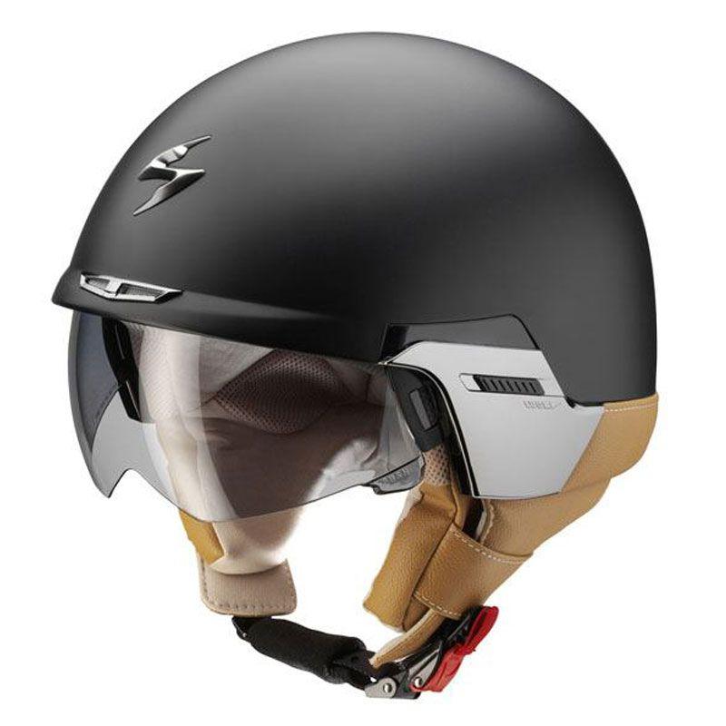 scorpion exo 100 open face helmet with sun visor and removable peak rh pinterest co kr