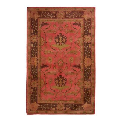 Lanart Rug Ruby Antiquity 4 Ft X 6 Area The Home Depot Canada