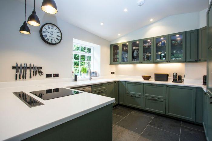 k chenarbeitsplatten die vor und nachteile der beliebtesten materialien granit. Black Bedroom Furniture Sets. Home Design Ideas
