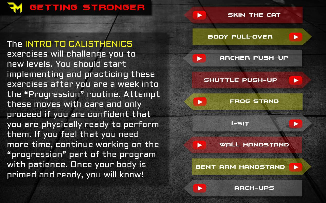 beginner calisthenics superhuman origins free pdf