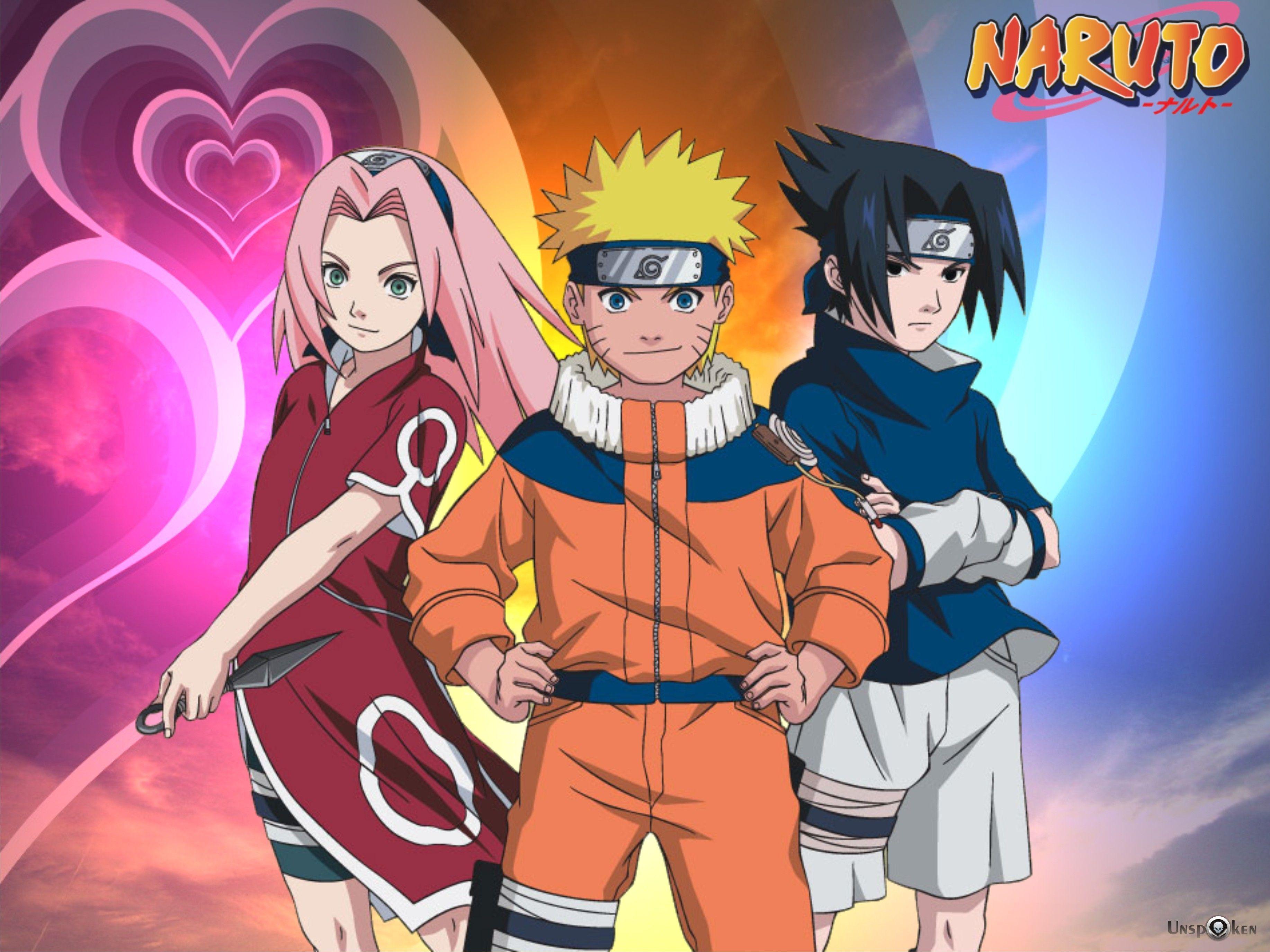 Naruto Shippuden Team 7 Wallpaper Hd Beautiful Naruto Wallpaper