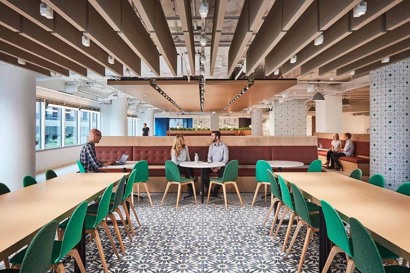 Linkedin chicago office interior branding office - Commercial interior design chicago ...