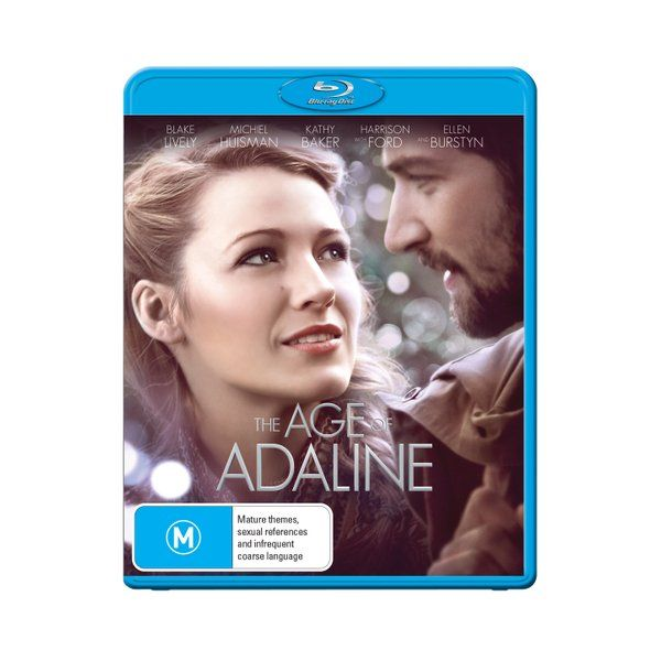 Product: The Age of Adaline [Blu-ray] Format: Blu-ray Catalogue No: 64282SBG Studio: eOne Certification: M Release Date: 2015-09-09 Region: Region B Duration: 113 minutes Discs: 1 disc(s) Produced (year): 2015 Colour: Colour Extras: Language(s): English|Interactive Menu