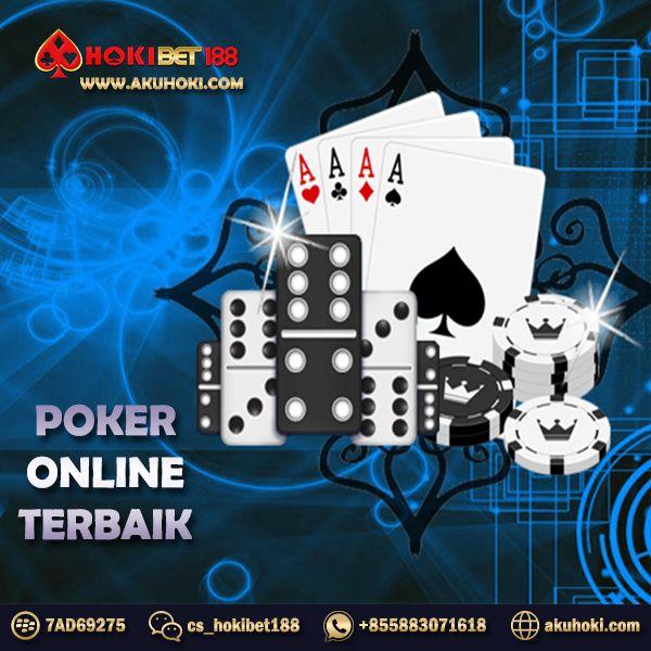 Poker online no bot, aman & terpercaya hanya di Hokibet188