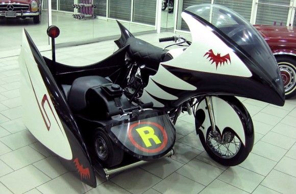 Ebay Find Of The Day 1966 Batcycle With Sidecar Batmobile