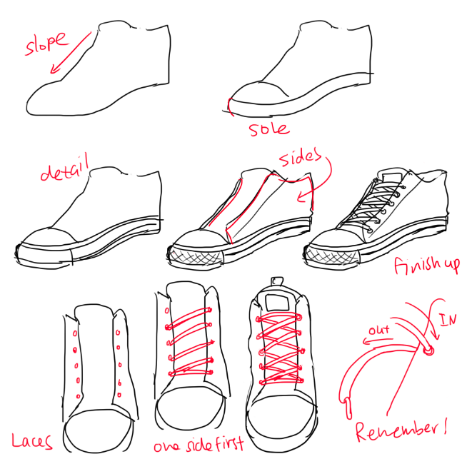 Heyyo hope this helps um there are alot of different boots sneakers im