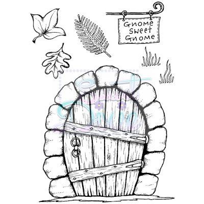 Fairy Door Template Google Search Gnome House Clay