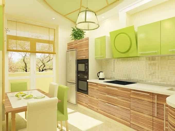 Great Kitchen Idea Combination Of Light Wood Grain Finish