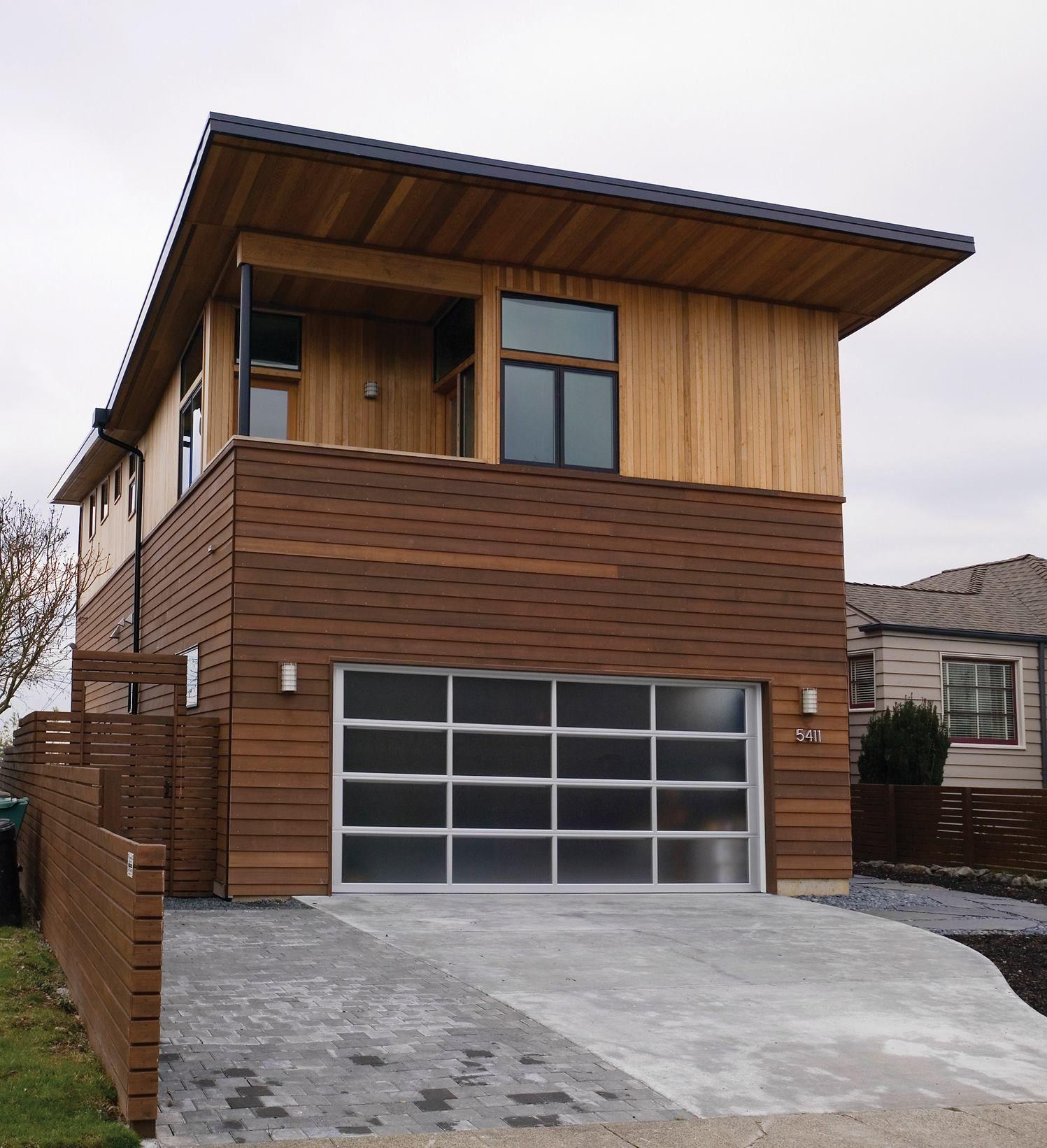 Modern Garage Apartment Designs Ideas 18: Blip Design: Avante Garage Doors From Clopay Building