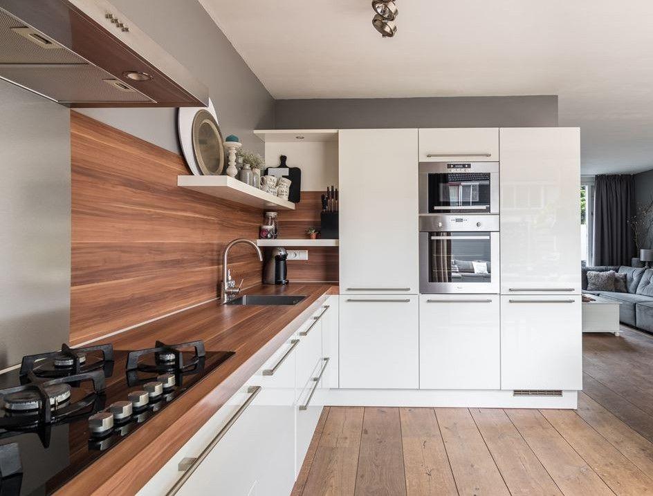 Keuken ikea planken beste zwevende eiken plank op maat van wijk
