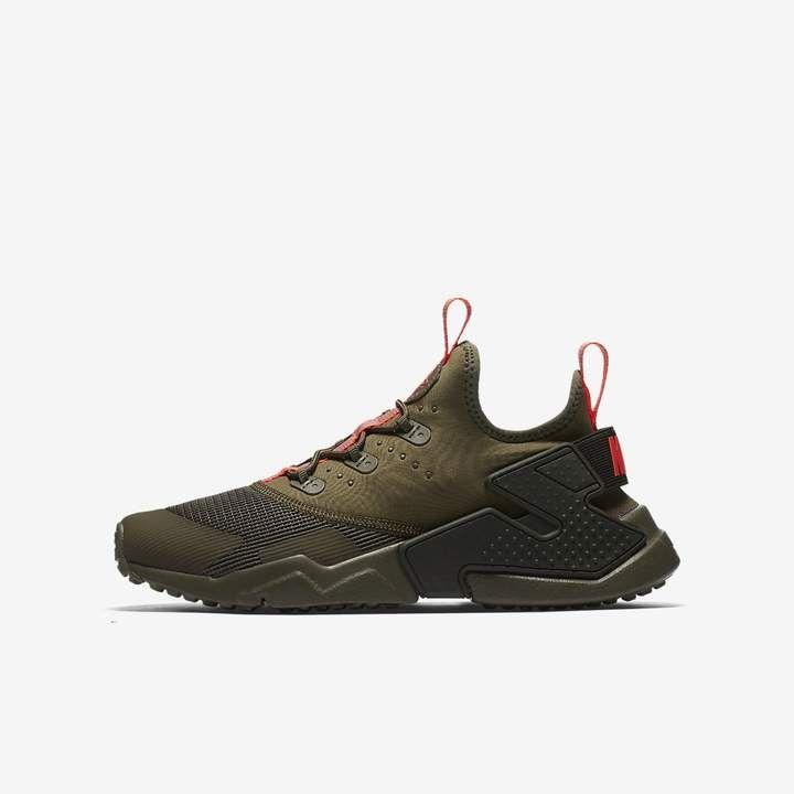 check out 0ca8e f820f Nike Huarache Run Drift Big Kids' Shoe   Products   Shoes ...