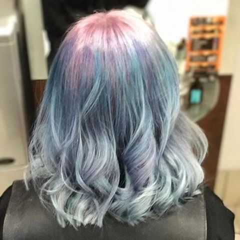 Pretty Pastel Hair By VoodouBecciJ Bluehair