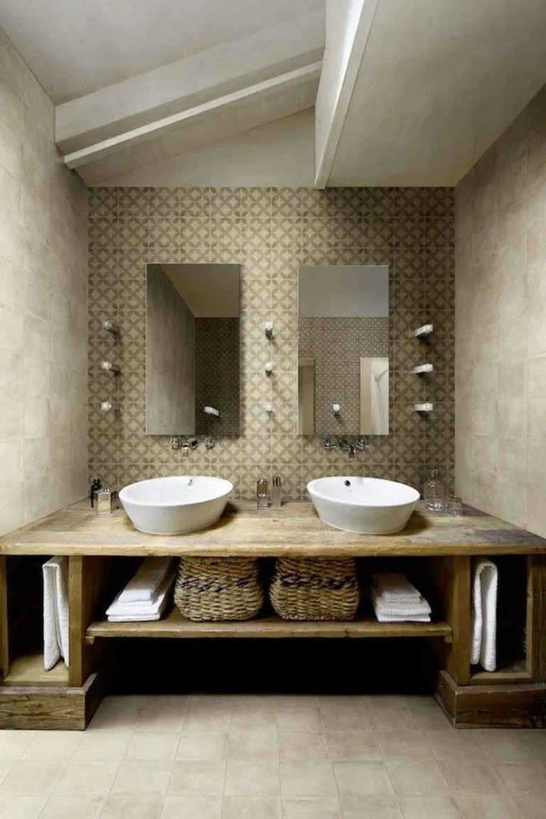 27 Stunning Small Bathroom Makeover Ideas 17 Bathroom Smallbathroom Bathroommakeover Lumbung Ba Small Bathroom Makeover Small Bathroom Minimalist Bathroom
