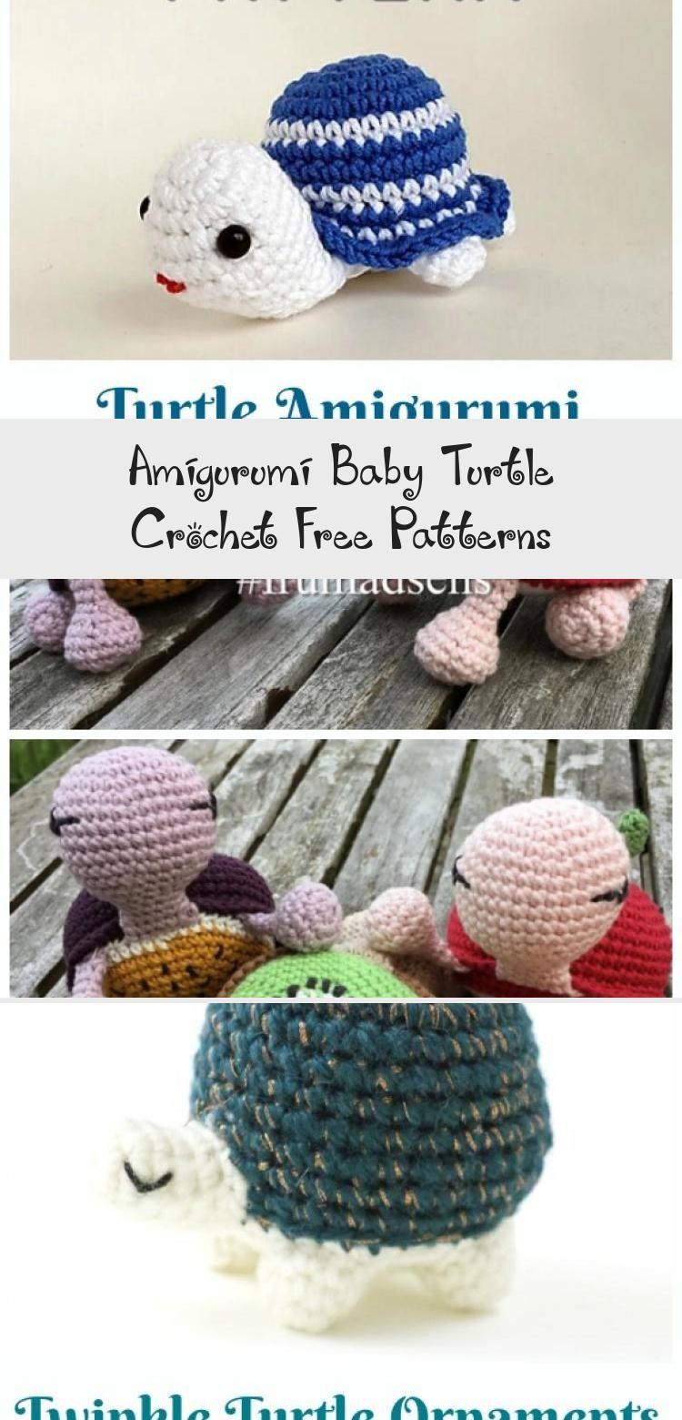 Crochet Baby Turtle Toy Amigurumi Free Pattern – Amigurumi Baby Turtle Crochet F…